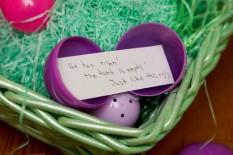 empty Easter eggs