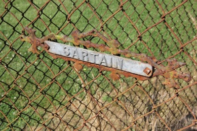 sartain cemetery gate