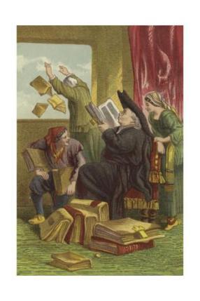 don quixote library destruction